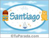 Santiago - Nombre para bebé