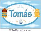 Tomás - Con personajes