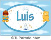Luis - Nombre para bebé