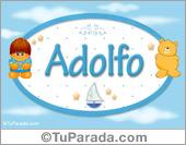 Adolfo - Con personajes