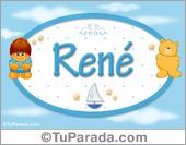 René - Nombre para bebé