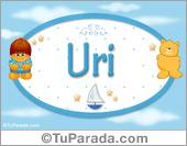 Uri - Nombre para bebé