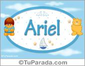 Ariel - Con personajes