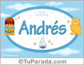 Andrés - Nombre para bebé