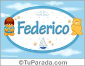 Federico - Con personajes