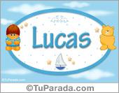 Lucas - Nombre para bebé