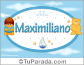 Maximiliano - Nombre para bebé