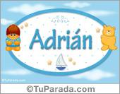 Adrián - Con personajes
