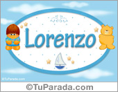 Lorenzo - Nombre para bebé