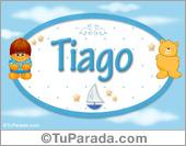 Tiago - Nombre para bebé