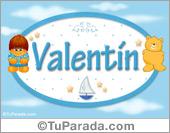 Valentín - Nombre para bebé
