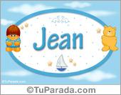 Jean - Nombre para bebé