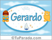 Gerardo - Con personajes