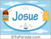 Josue - Nombres para bebé