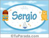 Sergio - Con personajes