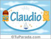 Claudio - Nombres para bebé