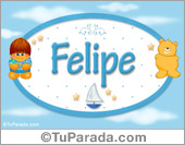 Felipe - Con personajes