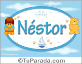 Néstor - Con personajes
