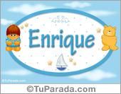Enrique - Nombres para bebé