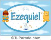 Ezequiel - Con personajes