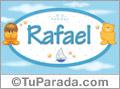 Nombre para bebé Rafael