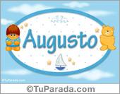 Nombre para bebé Augusto