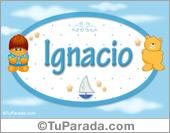 Ignacio - Nombre para bebé