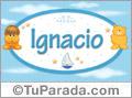 Nombre para bebé, Ignacio