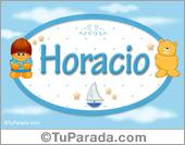 Nombre para bebé, Horacio