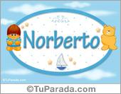 Nombre para bebé, Norberto