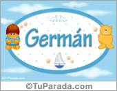 Germán - Nombre para bebé