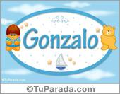 Gonzalo - Nombre para bebé