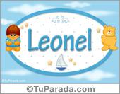 Leonel - Nombre para bebé