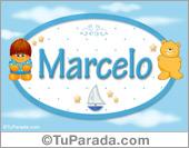 Marcelo - Nombre para bebé