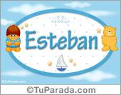 Nombre para bebé, Esteban