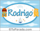 Rodrigo - Nombre para bebé