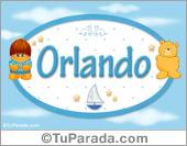 Nombre para bebé, Orlando