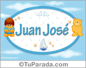 Nombre para bebé, Juan José