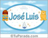 José Luis - Nombre para bebé
