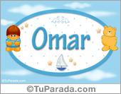 Nombre para bebé, Omar