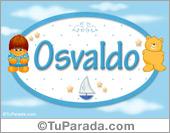Osvaldo - Nombre para bebé