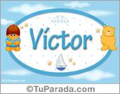 Nombre para bebé, Victor