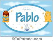 Nombre para bebé, Pablo