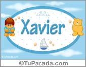Xavier - Nombre para bebé