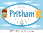 Pritham - Nombre para bebé