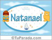 Nombre para bebé, Natanael