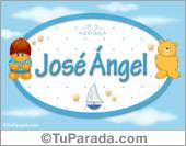 José Ángel - Nombre para bebé