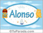 Alonso - Nombre para bebé