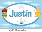Justin - Nombre para bebé