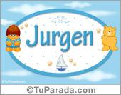 Jurgen - Nombre para bebé